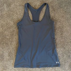 Gray Under Armour Tank size small